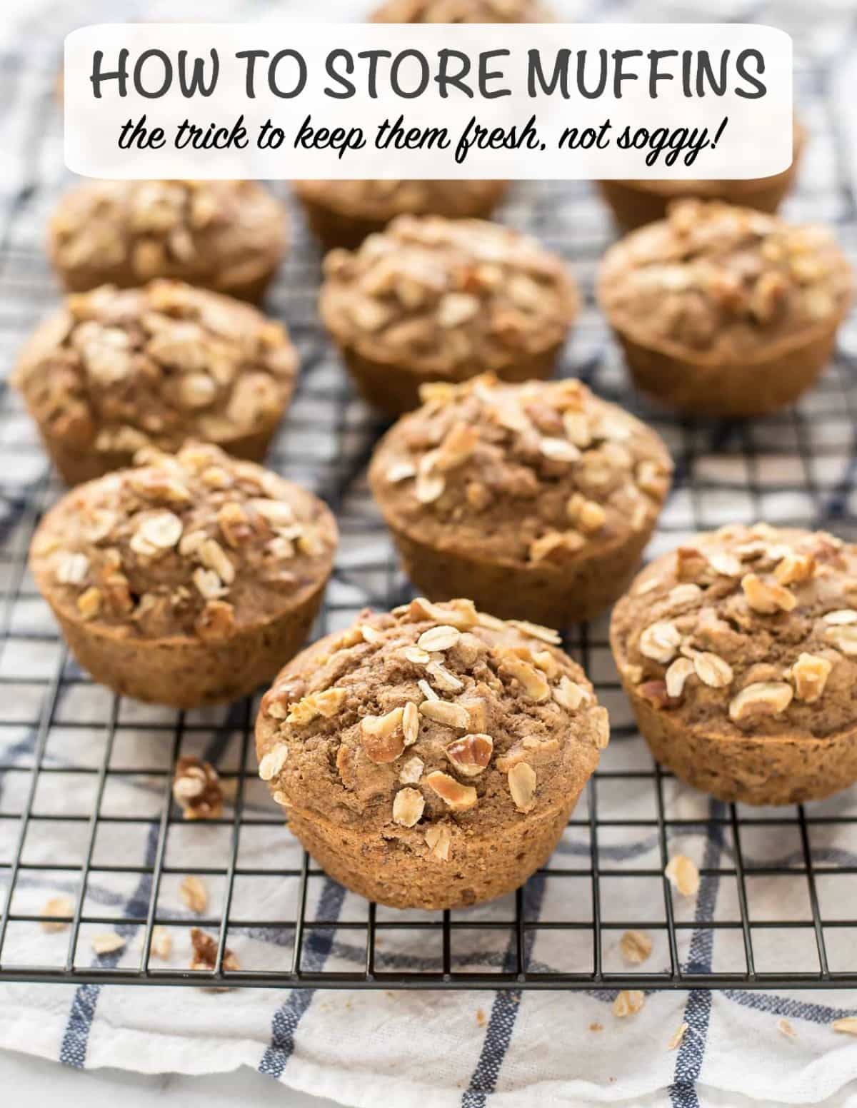 One simple trick will keep your homemade muffins fresh for longer. Here's how to store them (and keep them from getting soggy!) @wellplated