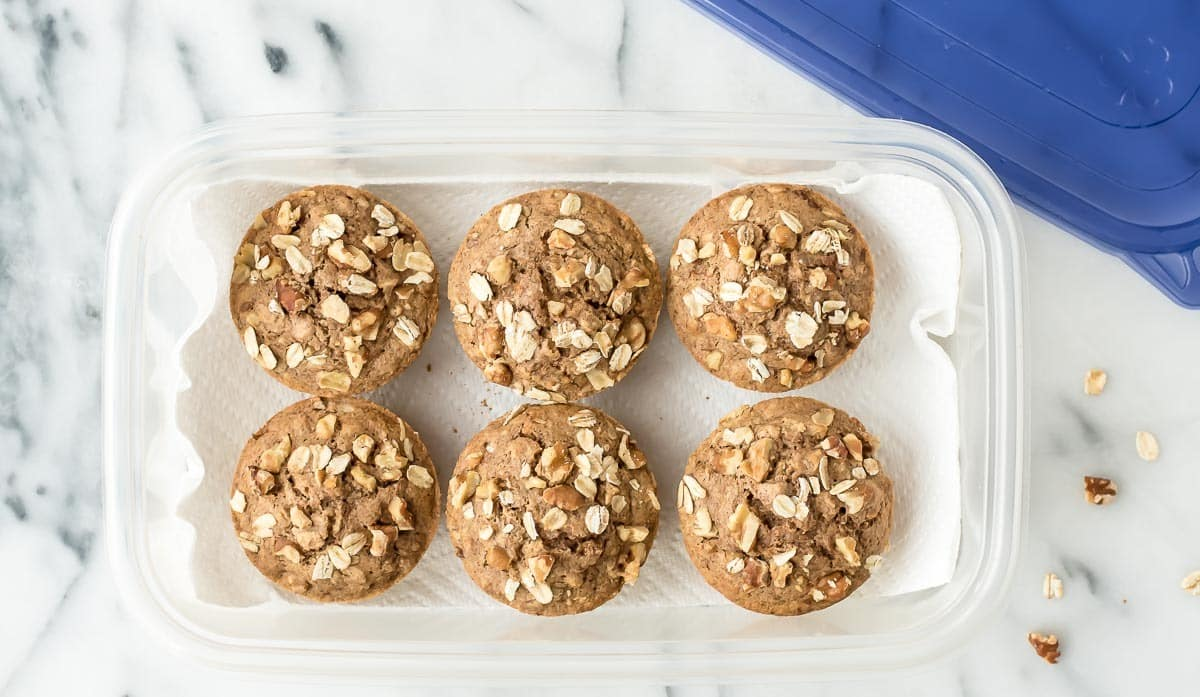 How to Store Muffins. The simple trick that keeps them fresh for longer. @wellplated