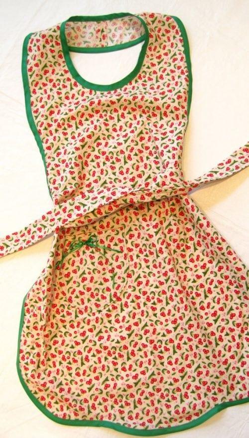 A colorful apron