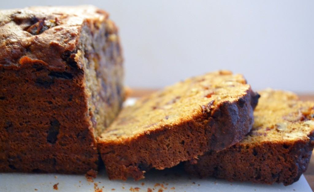 Orange Date Yogurt Bread