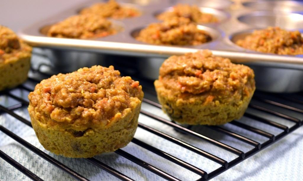 Carrot-Quinoa-Muffins