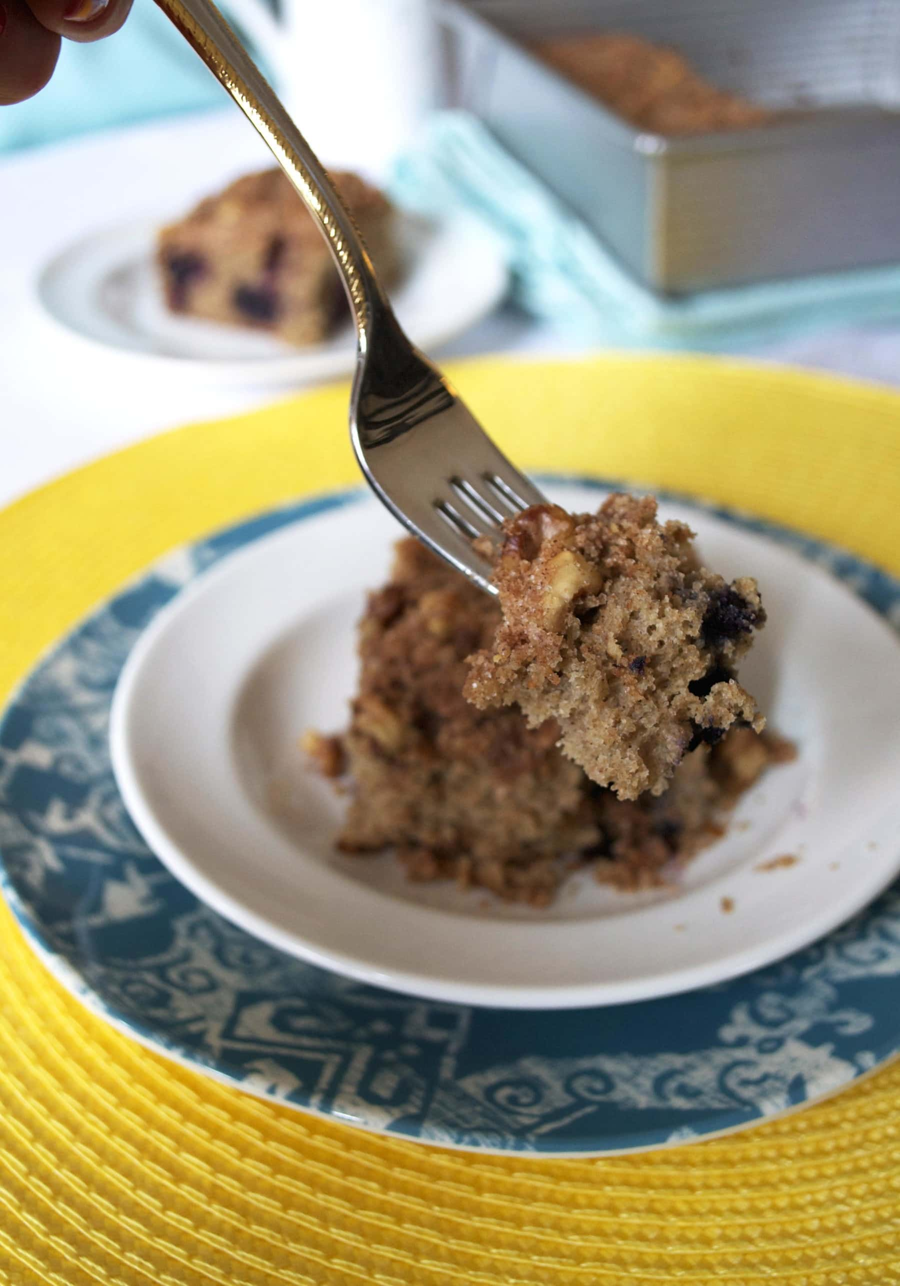 ... sugar walnut lid, this is truly the best blueberry coffee cake recipe
