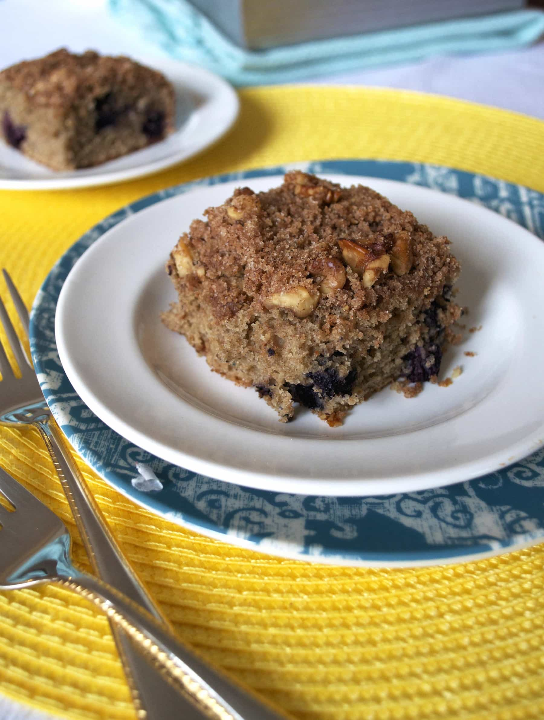 ... might just be the best part of the Best Blueberry Coffee Cake