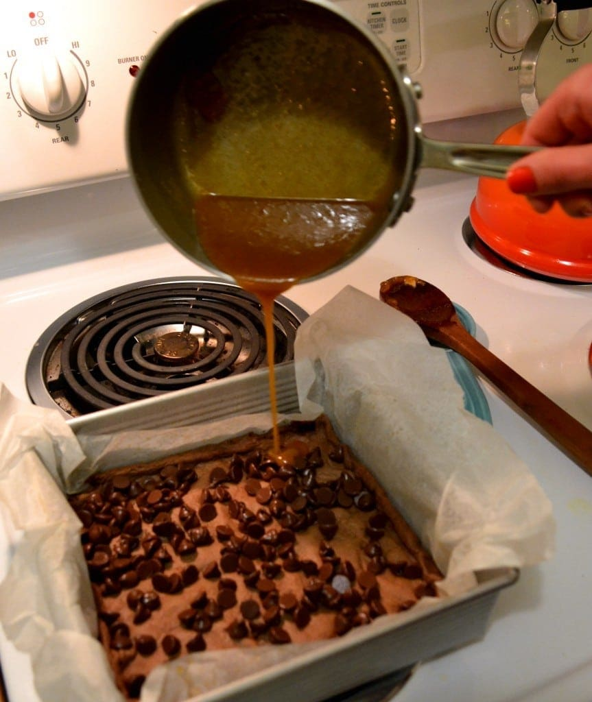 Boyfriend-Brownies-{Caramel Brownies}-Recipe-