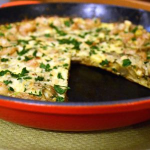 Shrimp-and-Artichoke-Frittata-Recipe