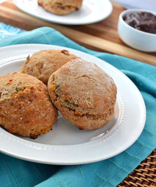 ... and deceptively lower calorie biscuits cheddar dill and whole wheat