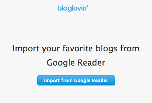 How to switch from Google Reader to Bloglovin-Step 3-and What is an RSS Reader