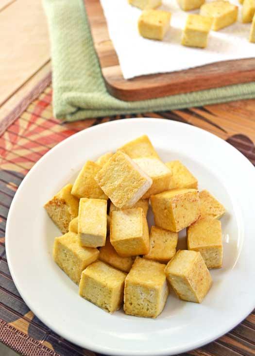 Deep Fried Tofu Squares Recipes — Dishmaps