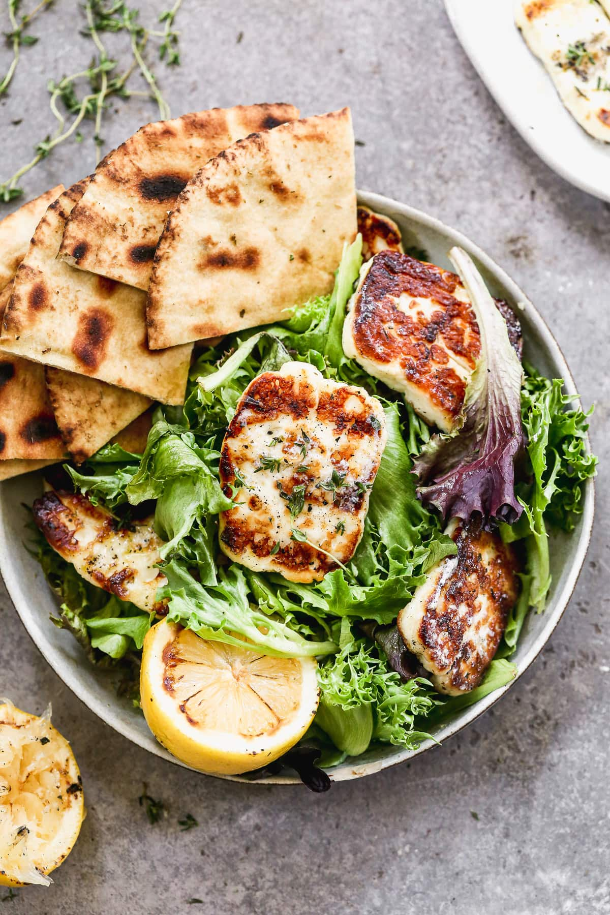 Grilled-Haloumi-Cheese-with-Fresh-Cherry-Salsa-Recipe