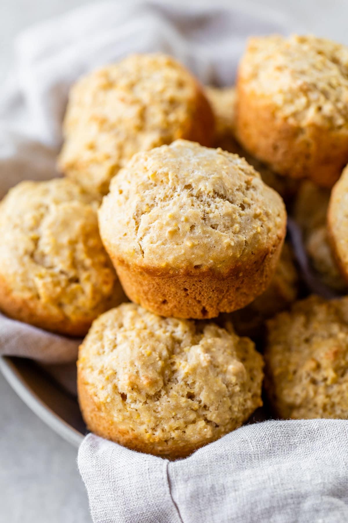 Raspberry Jam Corn Muffins