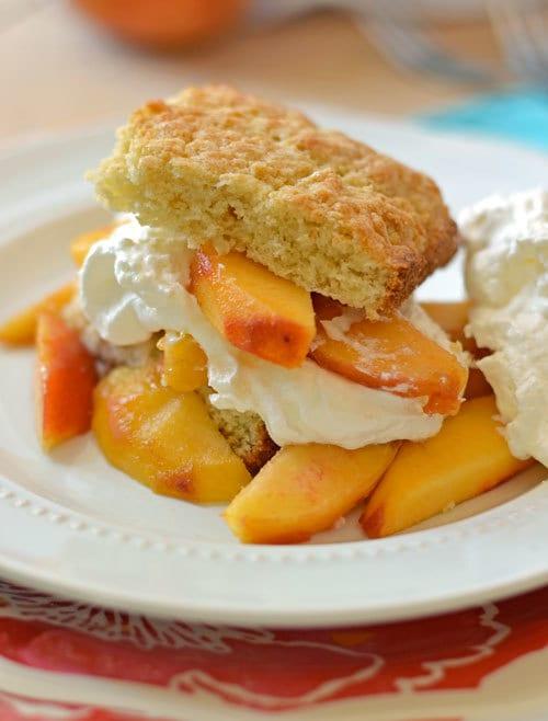 Peach Shortcake Recipe — Dishmaps