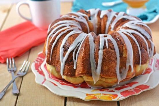 Honey Swirl Coffee Cake
