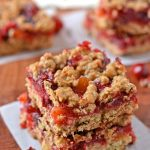 Healthy Cranberry Apricot Bars