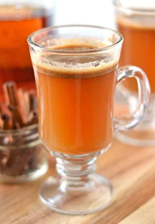 Hot Buttered Bourbon Cocktail