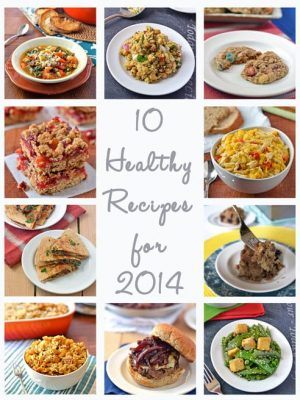 10 Healthy Recipes for 2014