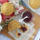 Healthy Buttermilk Crunch Muffins