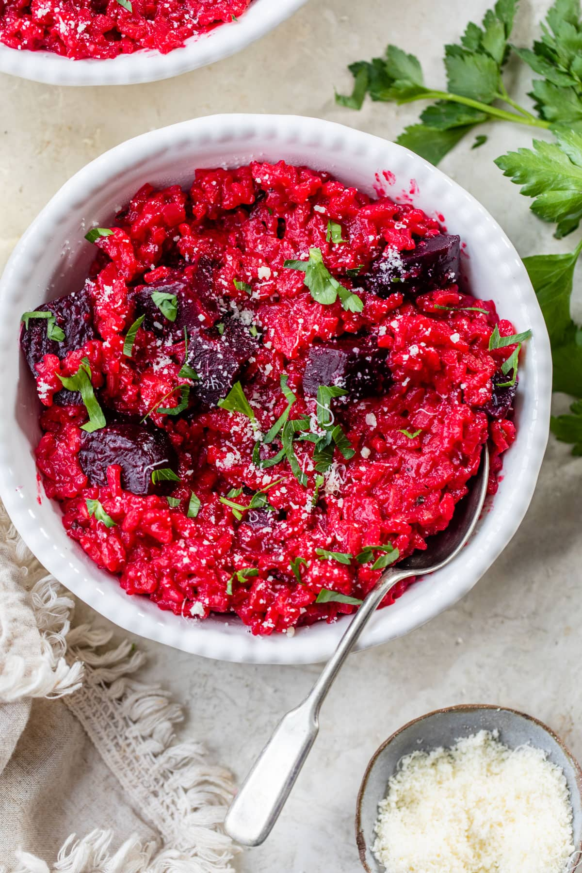 Beet Risotto. A gorgeous, healthy dinner.