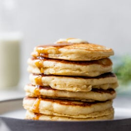 Fluffy Pancakes. The perfect classic recipe!