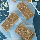 Peanut Butter Oatmeal Breakfast Bars Healthy Recipe