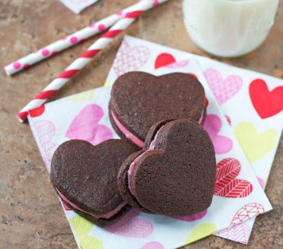 Find the recipe for Chocolate Sandwich Cookies with Raspberry Cream ...