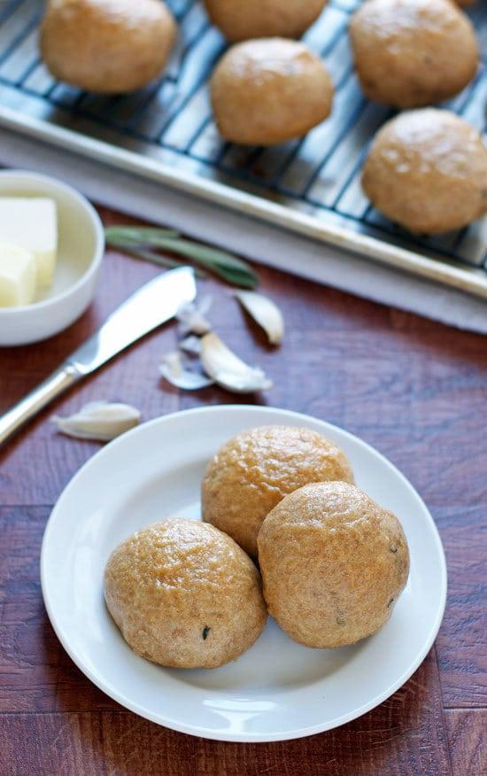 Roasted Garlic Potato Rolls. Ultra soft, fluffy, and easy recipe.