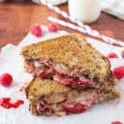 Raspberry Chipotle Bacon Grilled Cheese