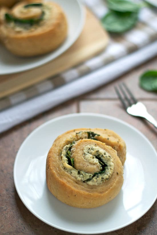 Goat Cheese Spinach Swirl Rolls. Whole wheat swirl buns with spinach goat cheese filling. Make ahead recipe.