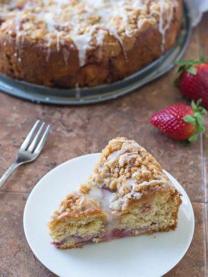 Strawberry Lemonade Yeasted Coffee Cake -Recipe-4
