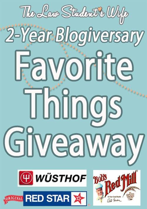 2-Year-Favorite-Things-Giveaway