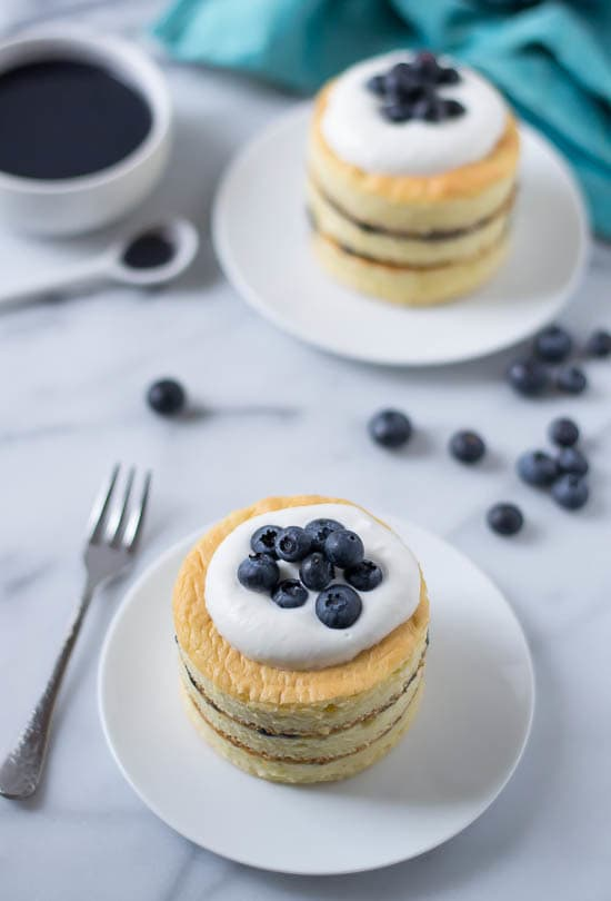 Buttermilk Chiffon Cake with Blueberry Curd and Buttermilk Whipped Cream-Recipe-2