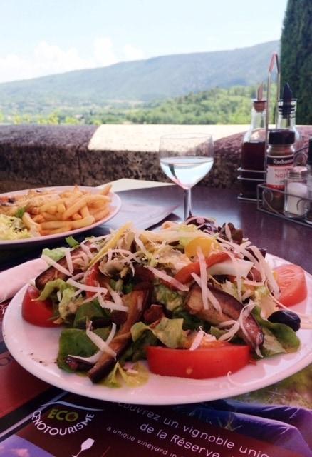 Bar:Restaurant de France in Lacoste