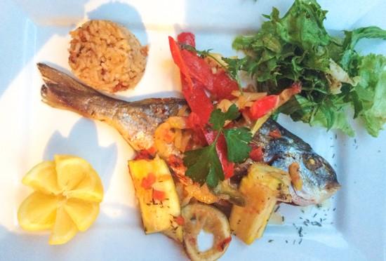 The Whole Fish at Au Brin de Thym