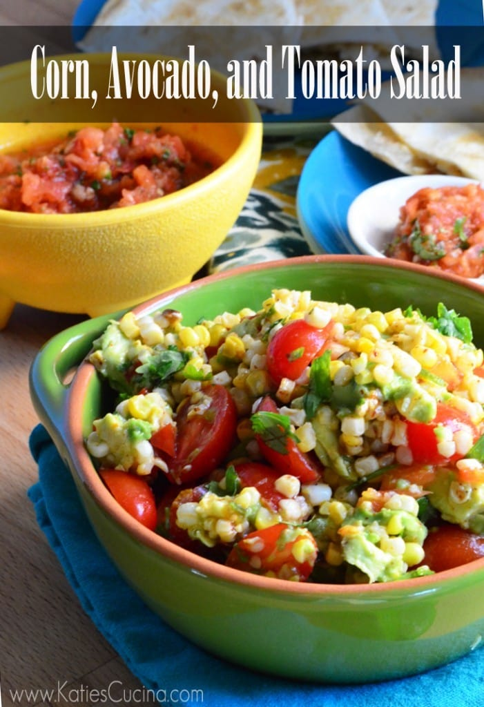 corn salad with crab summer corn salad made it tomato corn and avocado ...