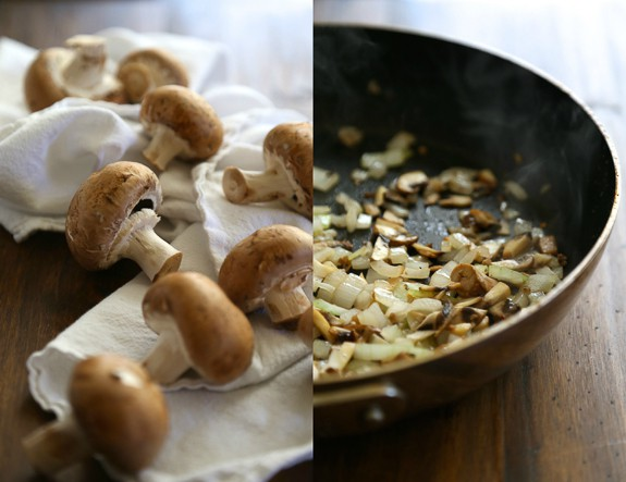 Lightened Up Grinder Sandwiches-with Mushrooms and Onions