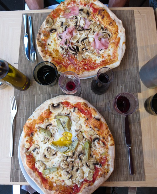 Pizza in nice? Oui!