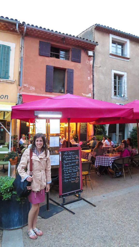 Roussilon-Dinner at Le Castrum