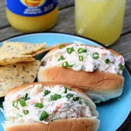 Sriracha Crab Salad Rolls. Creamy, easy, and perfect for seafood lovers.