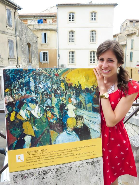Van Gogh Trail-Les Arenes d'Arles