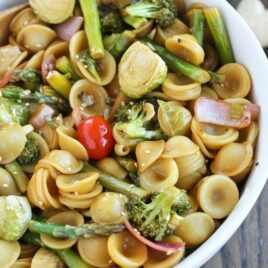 Asian Roasted Sesame Ginger Pasta Recipe