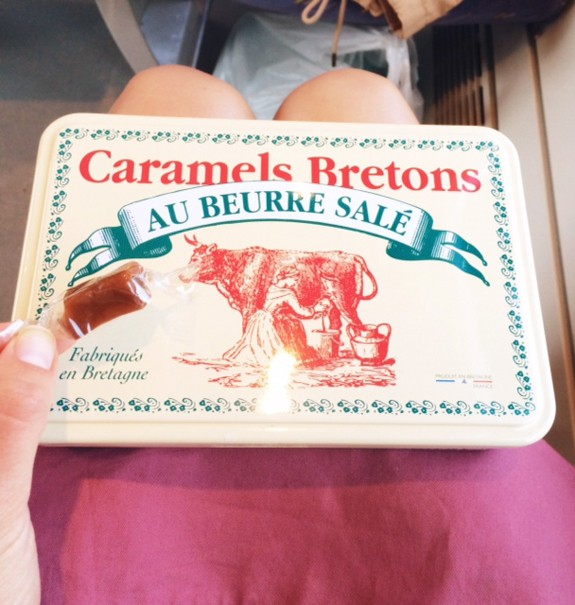 Breton Butter Caramels on the Train