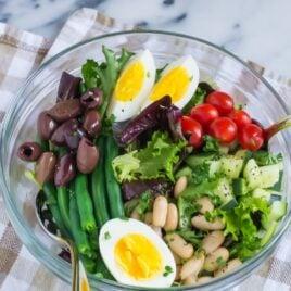 Easy Vegetarian Salad Nicoise Recipe