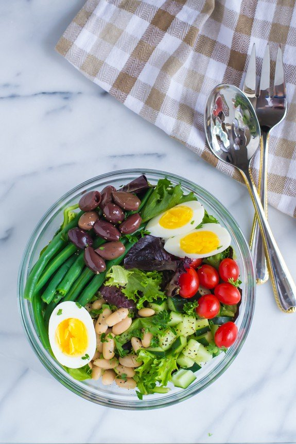 French Bean Salad Nicoise Recipe