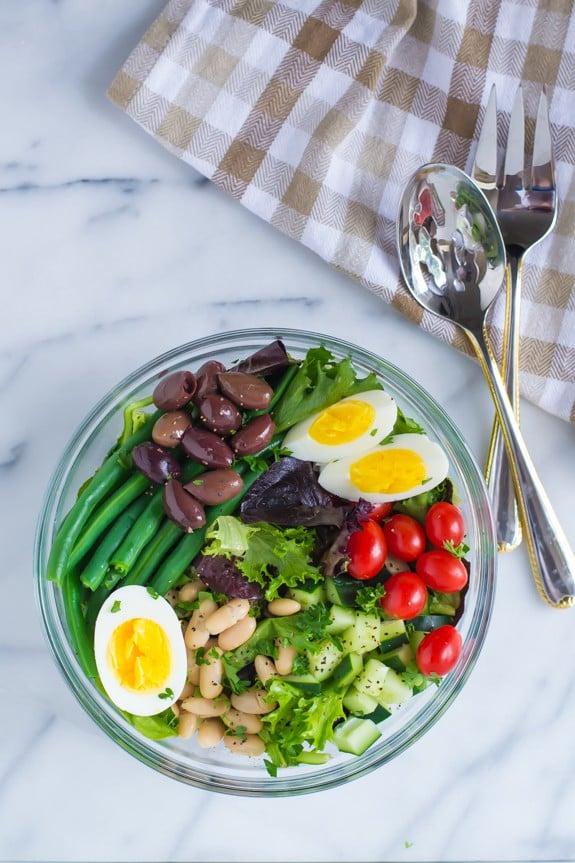 French Bean Salad Nicoise Recipe