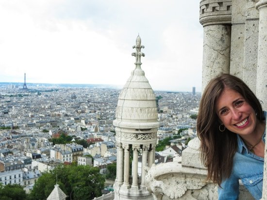 Sacre Coeur-Me at Top