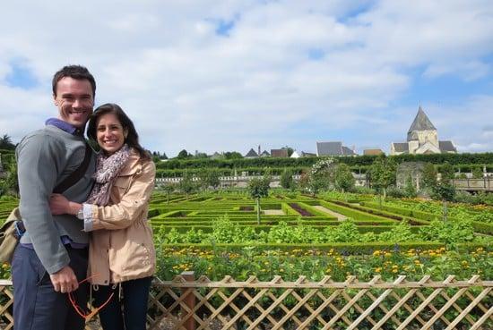 Villandry Gardens-Ben and Erin
