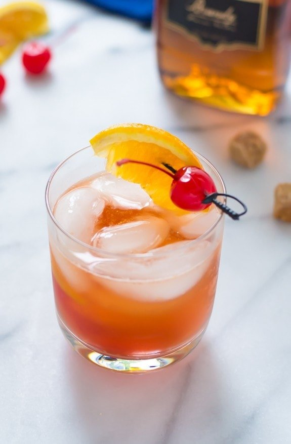 Brandy old fashioned one of the classic cocktail recipes everyone