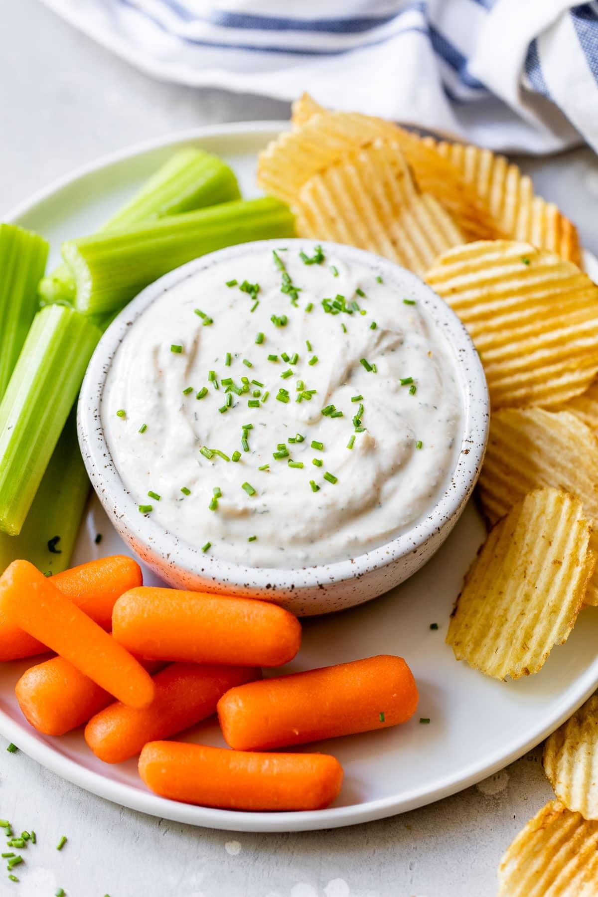 recipe: easy vegetable dip yogurt [7]