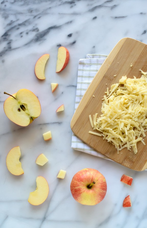 Healthy Ham Cheese and Apple Casserole