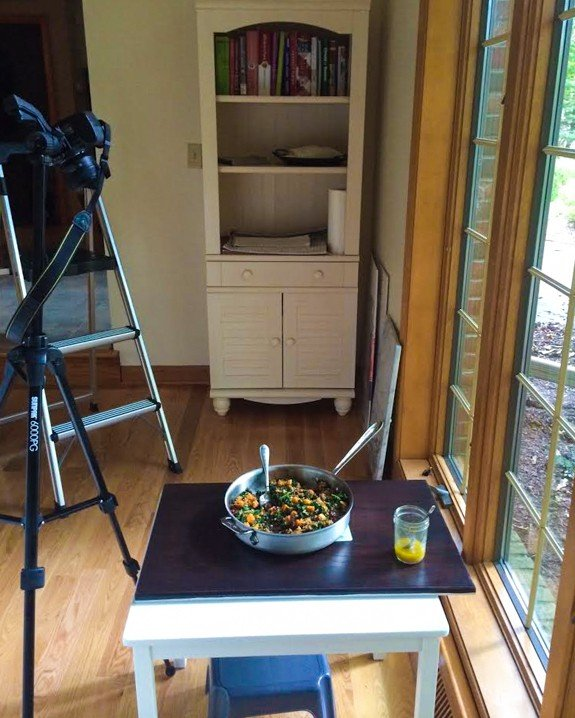Photo Set Up and Cabinet