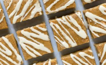 Maple Brown Sugar Bourbon Bars
